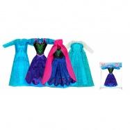 oblečení pro panenku zimní království, 4 druhy