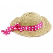 klobouk slaměný dětský