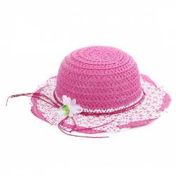klobúk slamený detský