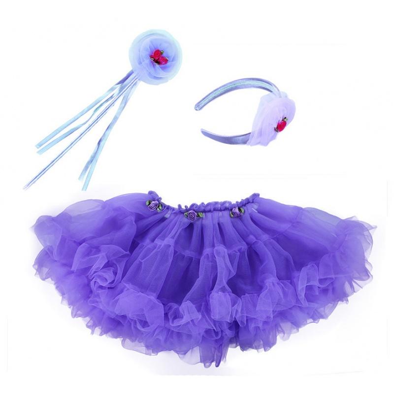 Sukně TUTU s příslušenstvím fialová ed12be7d24