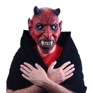 maska čert s ušami