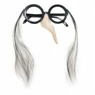brýle s nosem čarodějnické/halloween