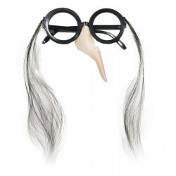 okuliare s nosom čarodejnícke / halloween