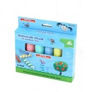 Křídy barevné 6 kusů v krabičce