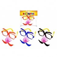 brýle s nosem a knírem, blikající 3 druhy