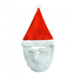Čiapka vianočné s fúzy