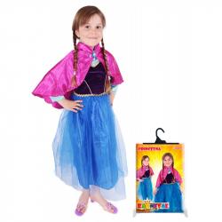 karnevalový kostým princezna zimní království Anička DELUXE, ...