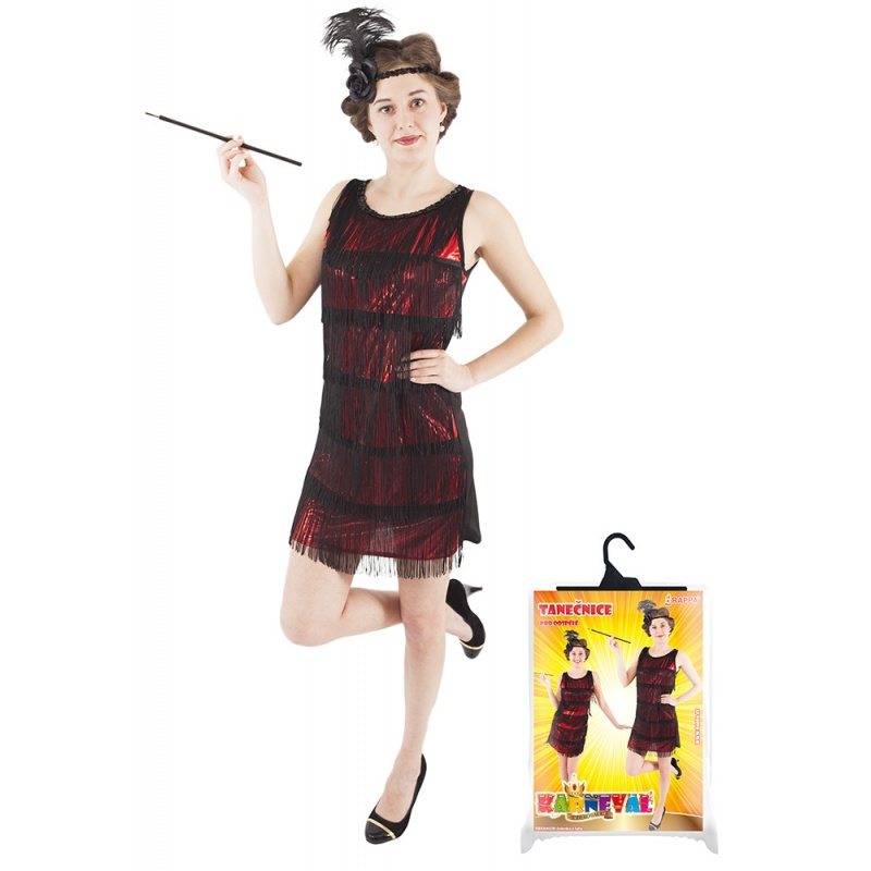 eeda1d5a1076 Karnevalový kostým swing šaty dospelých