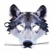 maska vlk dětská