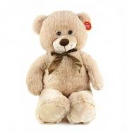 Plyšový medvěd 80 cm světlý