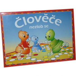 Gra - Clovece nezlob se w pudełku