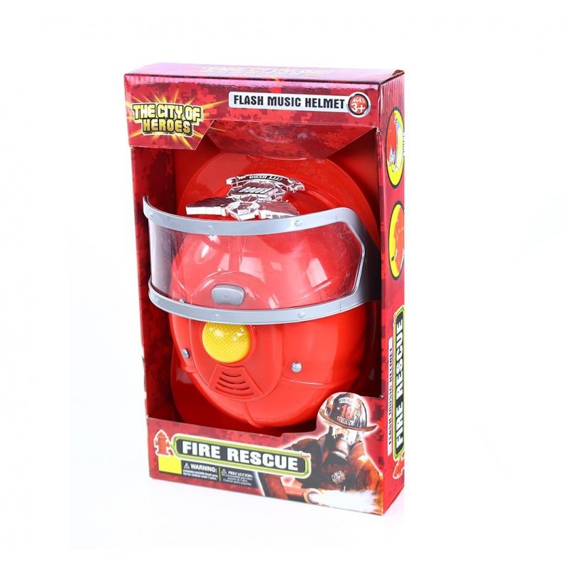 helma hasiči se zvukem a světlem