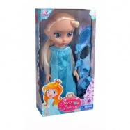 panenka zimní království princezna blond 38 cm
