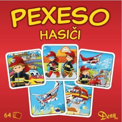 Gra pamięć (pexeso) strażak 64 elementy