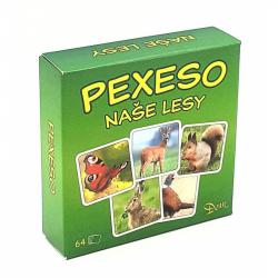 Gra pamięć(pexeso) las 64 elementy