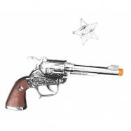 pistole kovbojská s odznakem Sheriff