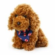 plyšový pes chumláč se šátkem 23 cm