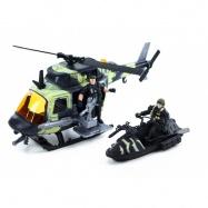 Helikoptéra vojenská s příslušenstvím