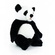 plyšová panda sedící, 46 cm