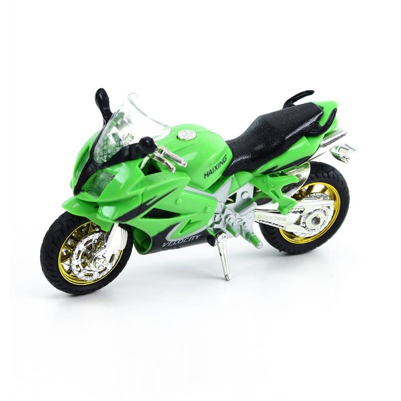 motorka plastová se zvukem 3 barvy
