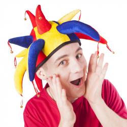 čiapky šašo / joker dospelý