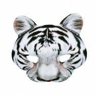 maska bílý tygr