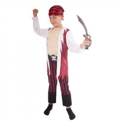 kostým pirát s šatkou veľ. M