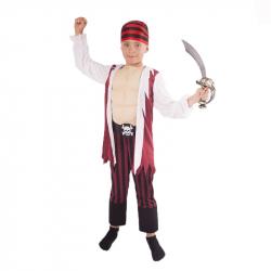kostým pirát s šatkou veľ. L