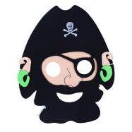 Maska pirátská 2 ks v sáčku