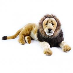 plyšový lev ležící 92 cm