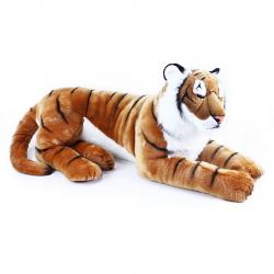 plyšový tygr ležící 92 cm