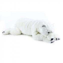 plyšový medveď ľadový ležiace 109 cm