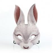 maska biely zajac