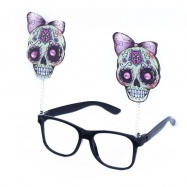 brýle lebka Halloween / Čarodějnice