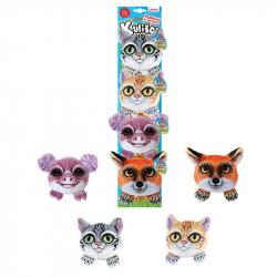 kulíšci - plyšové kočky a domácí zvířata, 9 cm, 4 druhy na kartě