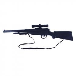 puška vojenská / Army so zvukom 2 druhy