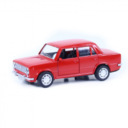 auto kovové LADA 3 druhy (Seat / Fiat 124)