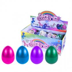 Jednorožec Maxi rostoucí ve vejci