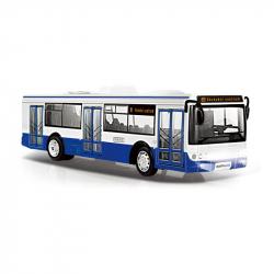 Autobus, ktorý hlási zastávky česky, 28 cm