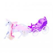Kočár s okřídleným koněm