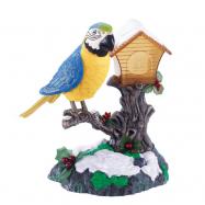 Pták zpívající s pohybem