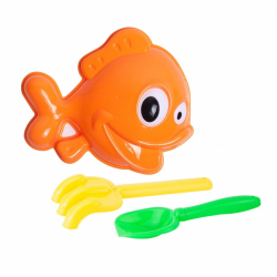 sada na piesok ryba 3 ks