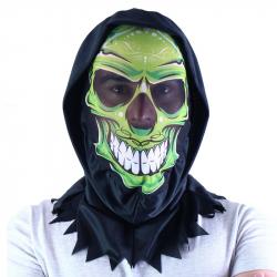 maska kostra textilní