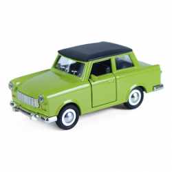 Auto kov - plast retro - Trabant