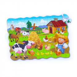 Puzzle farma 208 ks, 90 x 64 cm