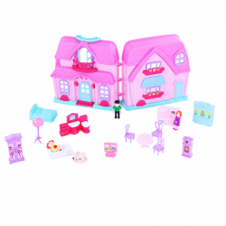 Domček pre bábiky so svetlom a zvukom