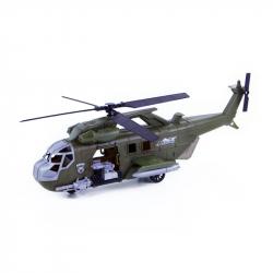 Vojenská helikoptéra se zvukem a světlem, 42 cm