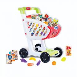 Dětský nákupní vozík s českým zbožím