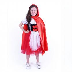 Detský kostým červená Karkulka (S)