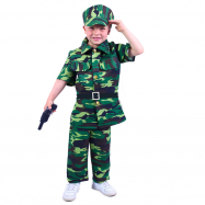 Dětský kostým voják (S)